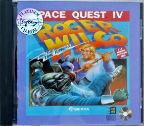 Space Quest IV: Roger Wilco and the Time Rippers (Softkey) (IBM PC) (CD Version)