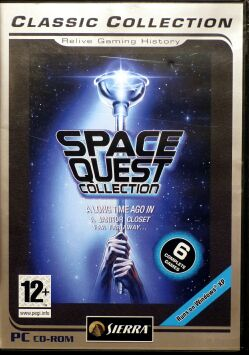 Space Quest Collection (Space Quest I-VI) (Classic Collection) (IBM PC)