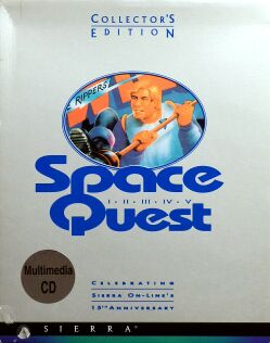 Space Quest Collector's Edition (Space Quest I-V) (IBM PC) (UK Version)