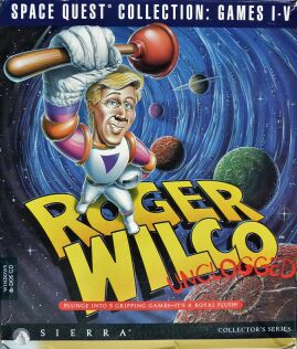 Space Quest Collection Games I-V: Roger Wilco Unclogged (IBM PC)