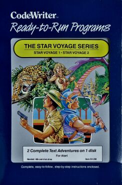 Star Voyage Series, The (CodeWriter) (Atari 400/800)
