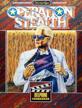 Operation Stealth (Delphine) (Amiga)