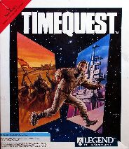 Time Quest (IBM PC) (Contains Hint Book)