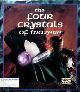 Four Crystals of Trazere, The (IBM PC)