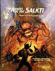 Tunnels and Trolls #20: The Amulet of the Salkti