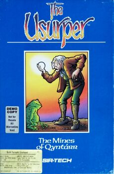 Usurper: Mines of Qyntarr (IBM PC/Apple II)