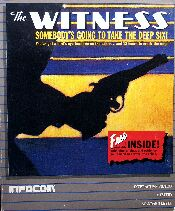 Witness (IBM PC) (Contains InvisiClues Hint Book, Map, Witts' Notes)