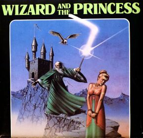 Wizard and the Princess (Load 'n' Go!) (C64) (missing plastic holder)