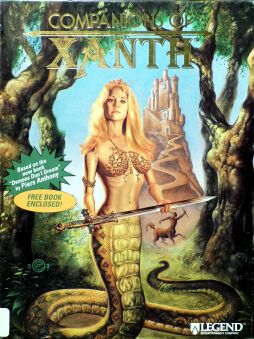 Companions of Xanth (IBM PC) (Contains CD version parts, Hint Book)