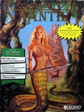 Companions of Xanth (IBM PC) (missing book, disks)