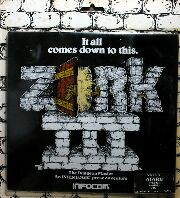 Zork III (Atari 400/800) (Contains Broken Timber Press Hint Book)