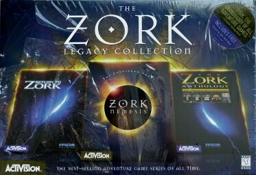 Zork Legacy Collection, The (Activision) (IBM PC) (Contains Return to Zork Hint Book)
